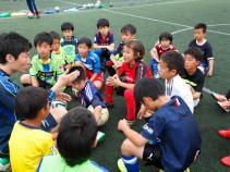 第5回 サッカースクール「湘南小僧」開催